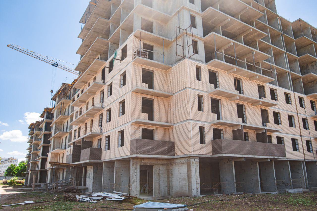 Отчет о строительстве ЖК «Открытие», июнь, 2020г.
