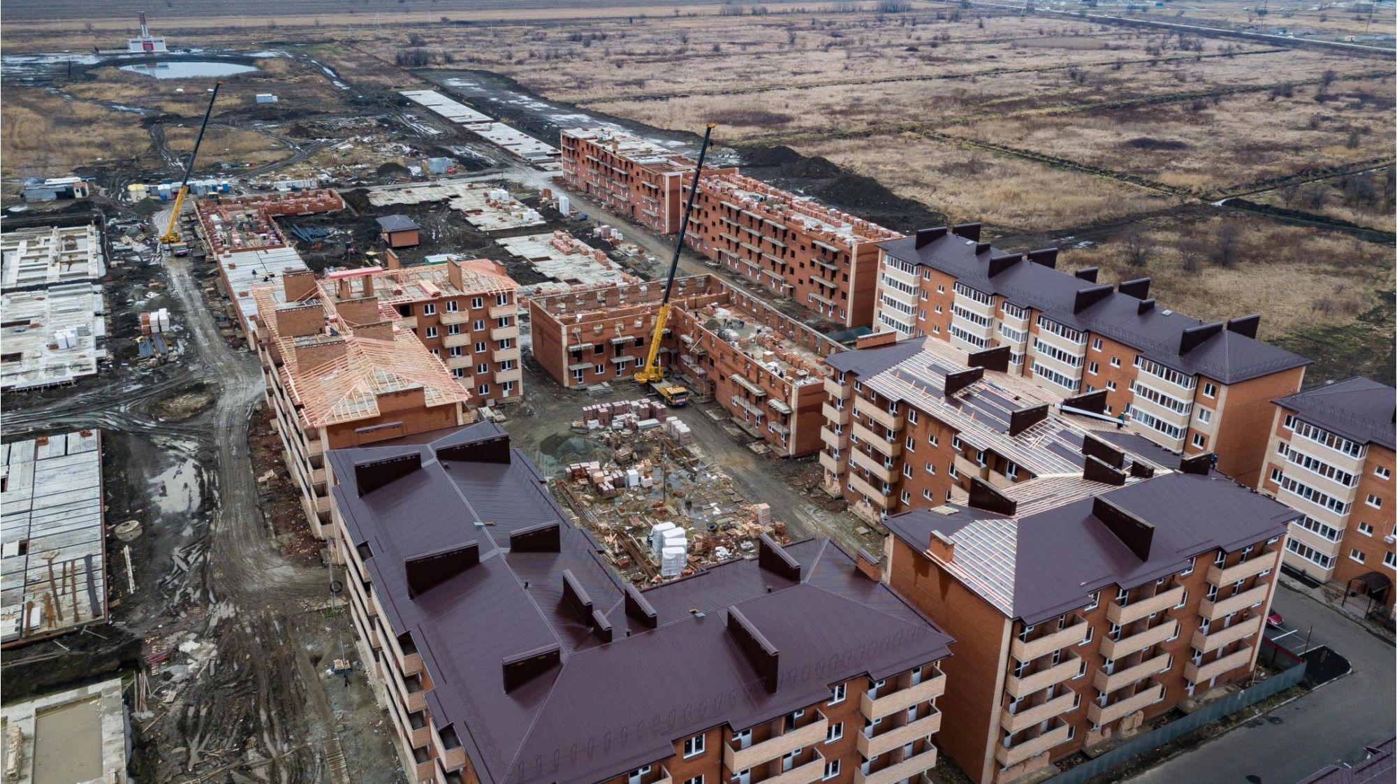 Отчет о строительстве ЖК «ДарГрад», июль, 2020г.