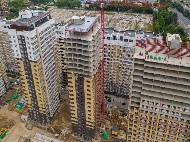 Отчет о строительстве ЖК «Элегант», июнь , 2020г.