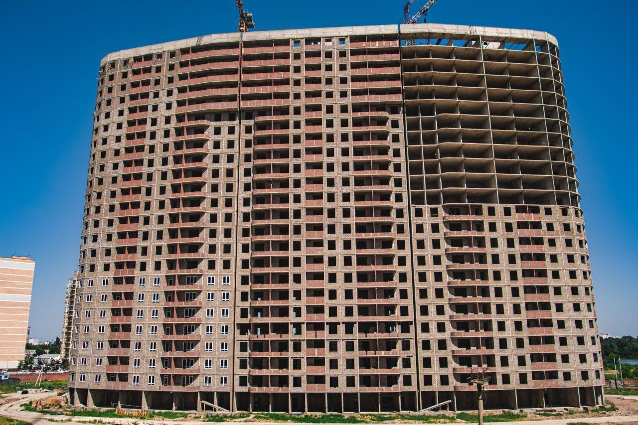 Отчет о строительстве ЖК «Фонтаны», июнь , 2020г.