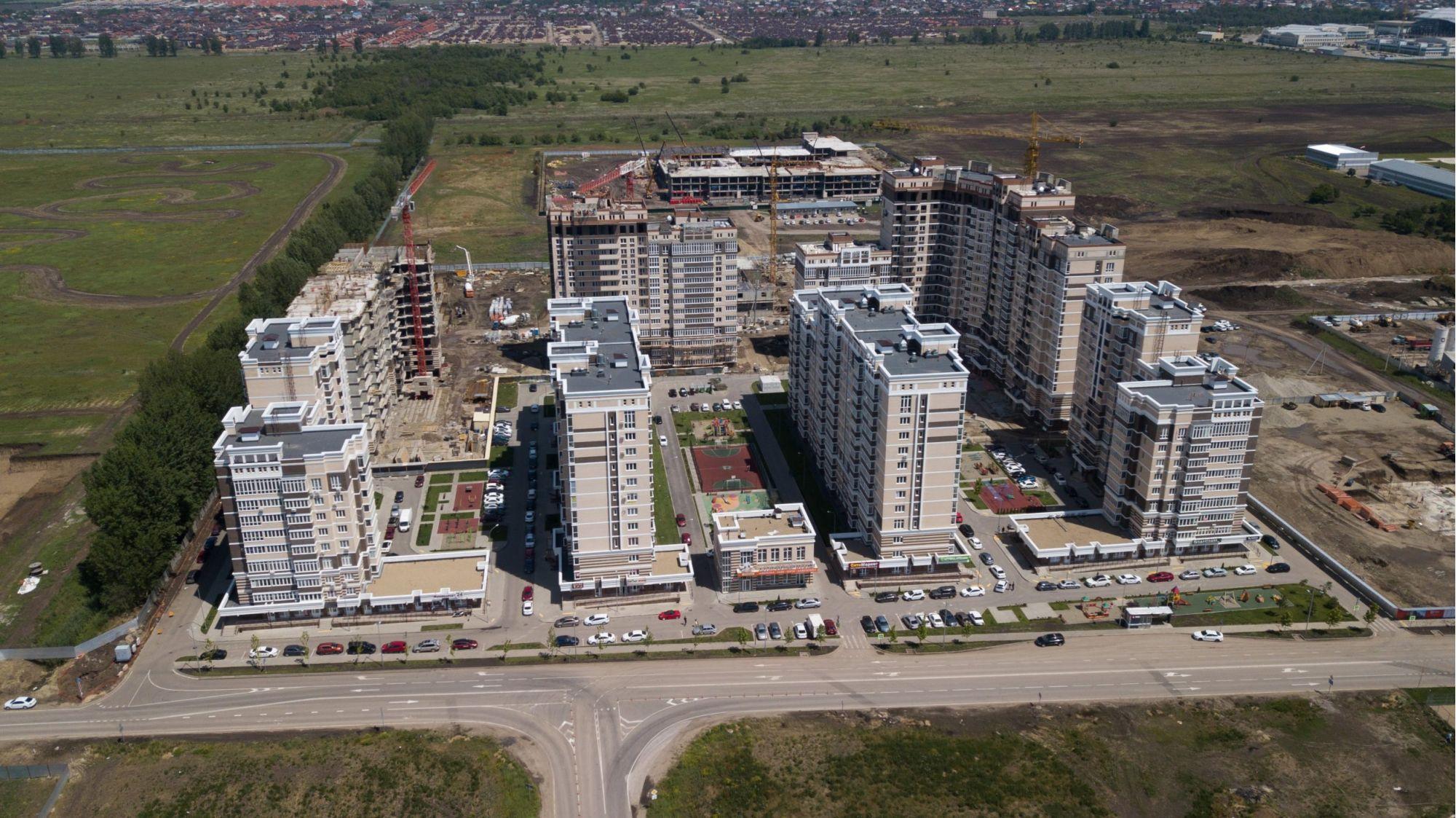 Отчет о строительстве Neo квартал «Красная площадь», июнь , 2020г.