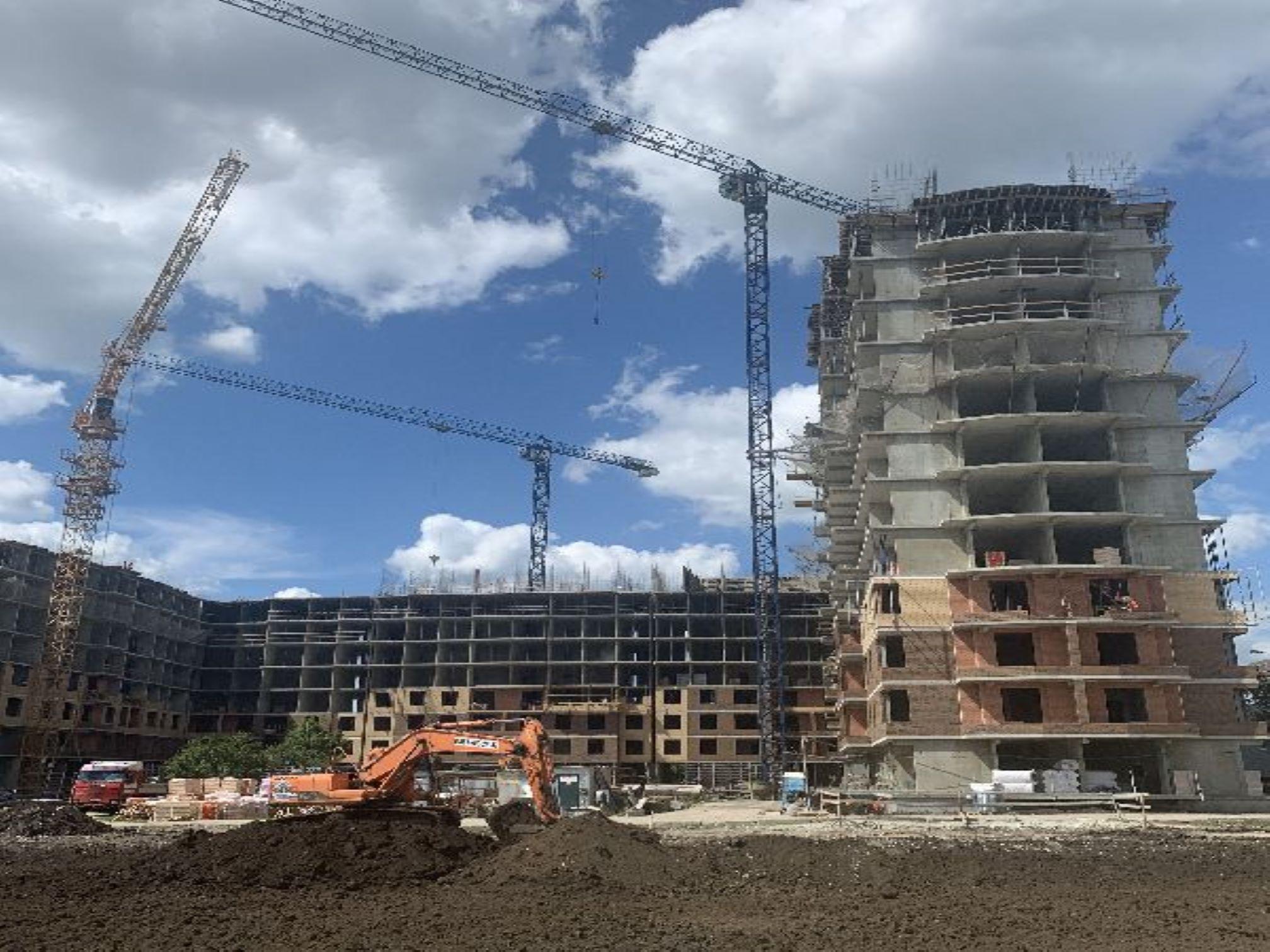 Отчет о строительстве ЖК «Лайм», июнь , 2020г.