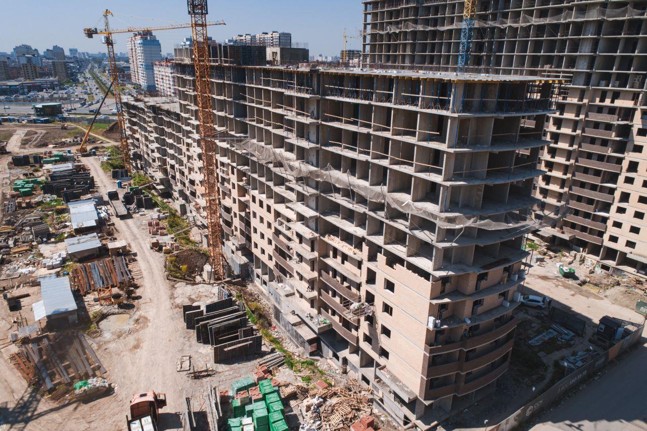 Отчет о строительстве ЖК «Лучший», июнь , 2020г.