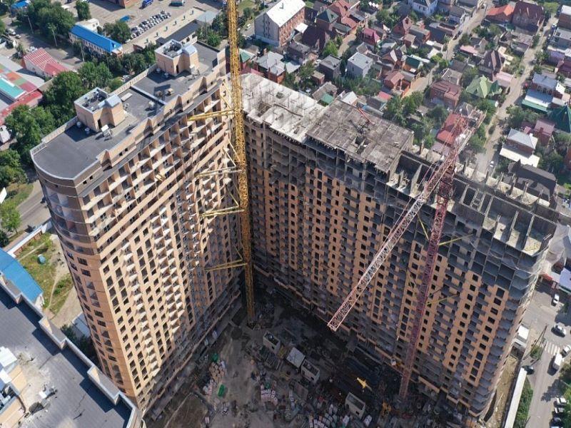 Отчет о строительстве ЖК «Маршал», июнь , 2020г.