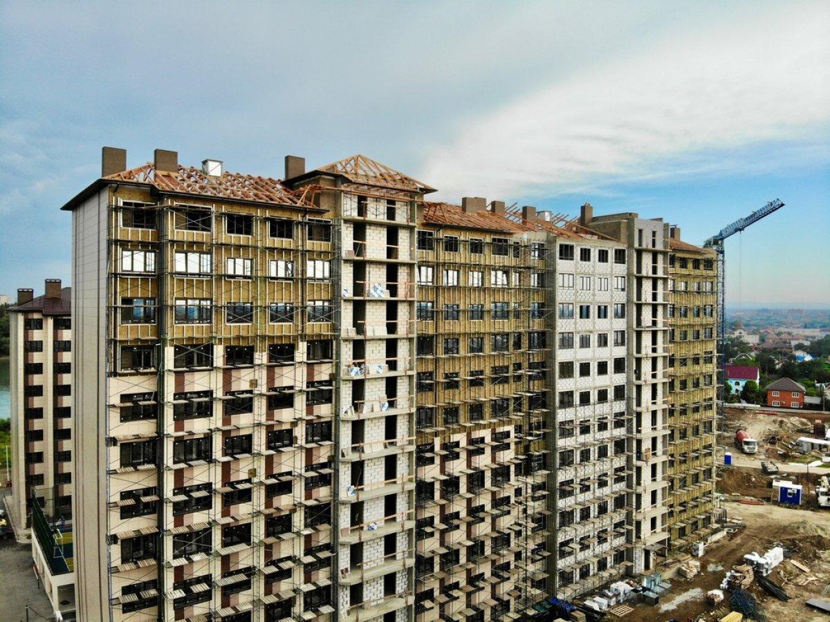 Отчет о строительстве ЖК «Мега Победа», июнь , 2020г.