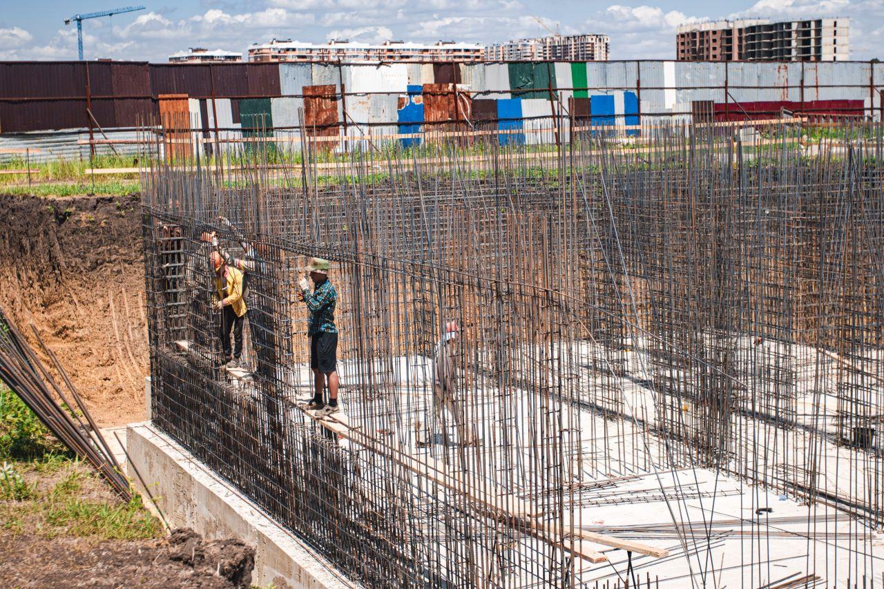 Отчет о строительстве ЖК «Ракурс», июнь , 2020г.