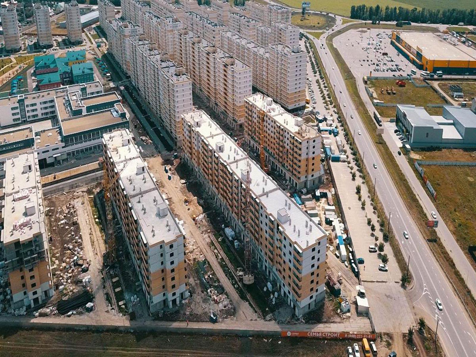 Отчет о строительстве ЖК «Светлоград», июнь , 2020г.