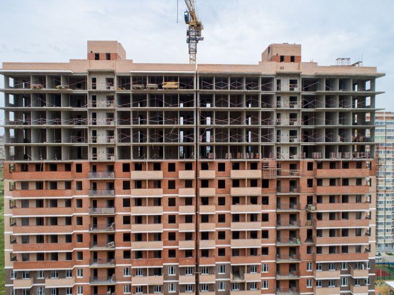 Отчет о строительстве ЖК «Ясный», июнь , 2020г.