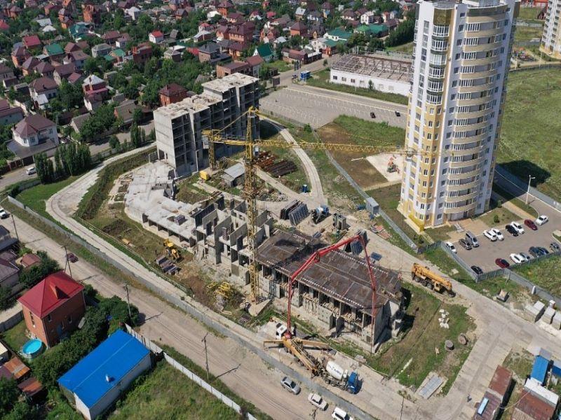 Отчет о строительстве ЖК «Зеленодар», июнь , 2020г.