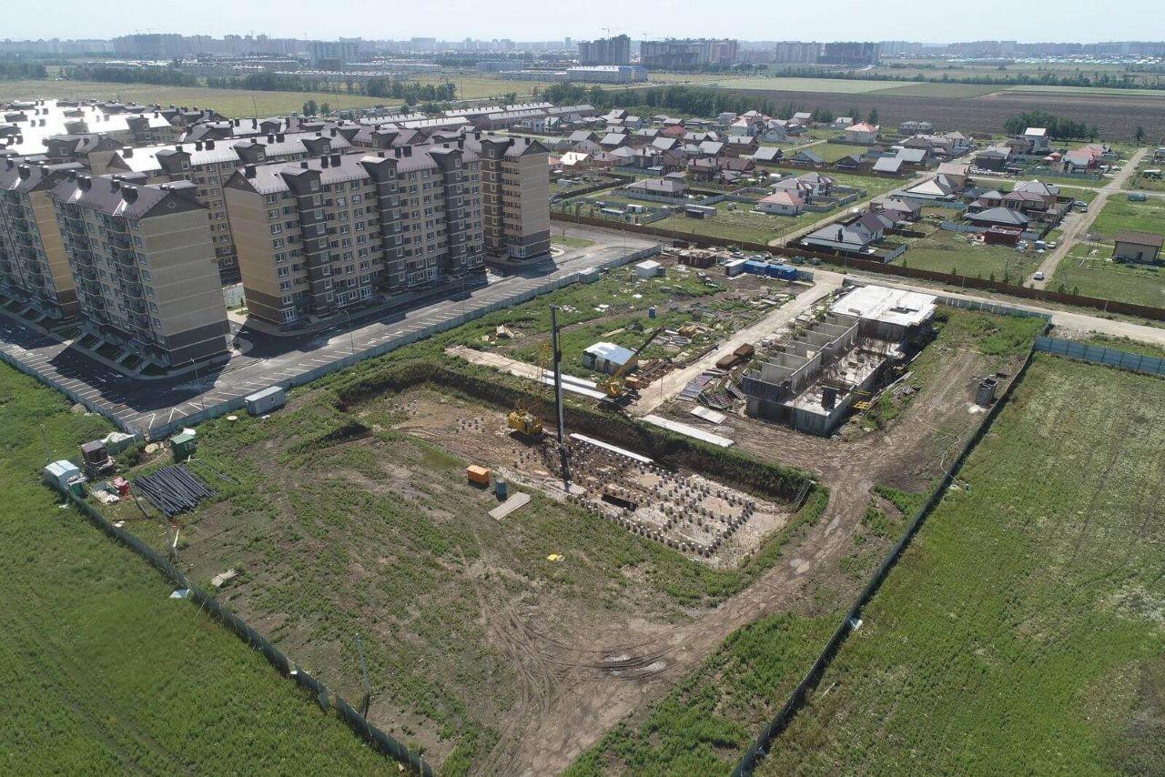 Отчет о строительстве ЖК «Дыхание», июль, 2020г.