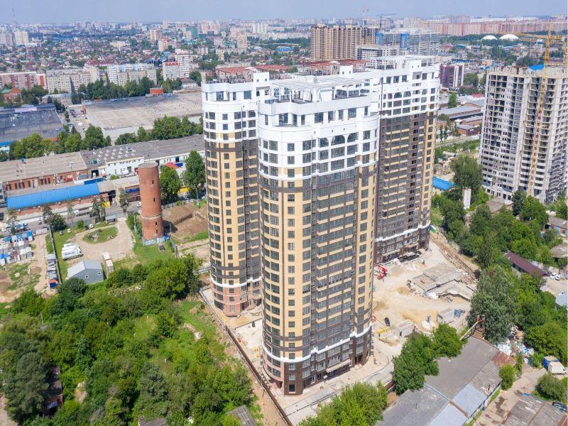 Отчет о строительстве ЖК «Фамилия», июль, 2020г.