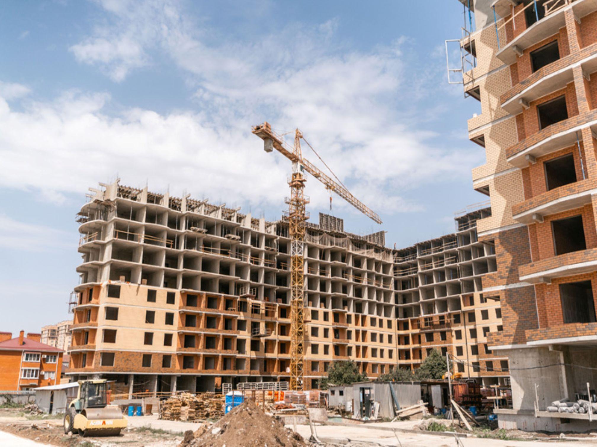 Отчет о строительстве ЖК «Лайм», июль, 2020г.