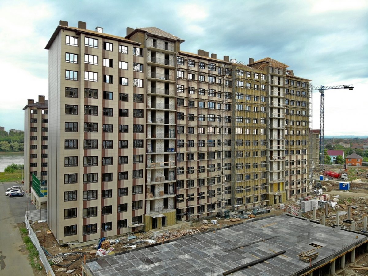 Отчет о строительстве ЖК «Мега Победа», июль, 2020г.