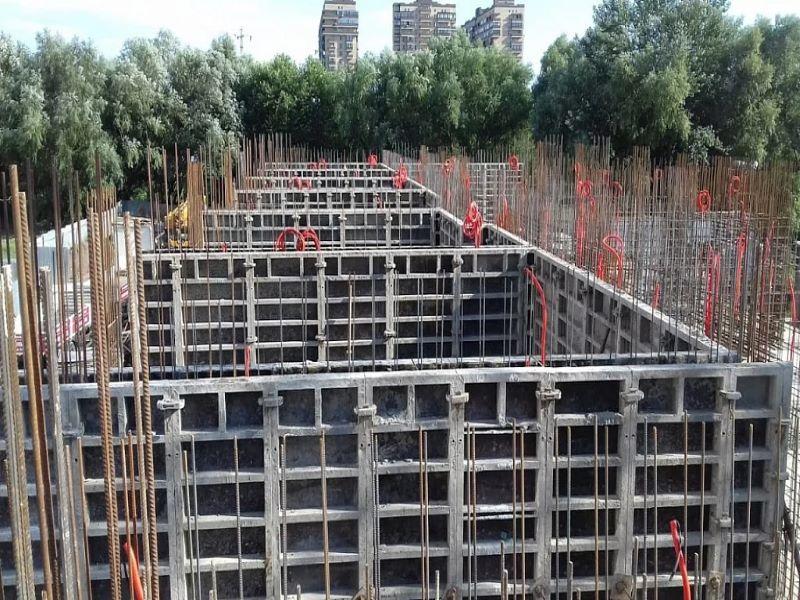Отчет о строительстве ЖК «Мелодия», июль, 2020г.
