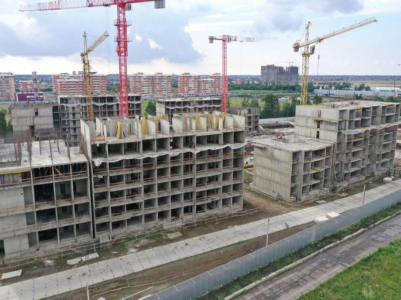 Отчет о строительстве ЖК «Novella», июнь , 2020г.