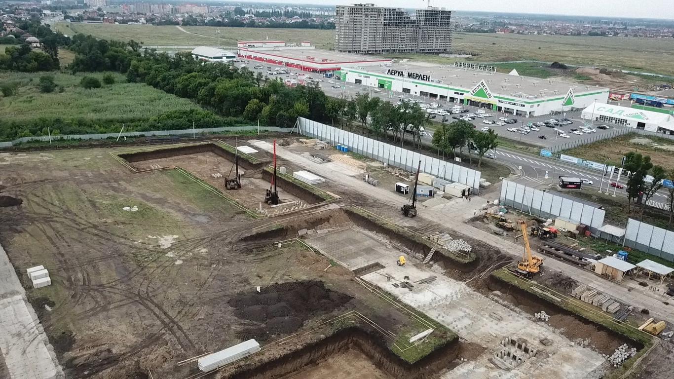 Отчет о строительстве ЖК «Парк Победы», июль, 2020г.