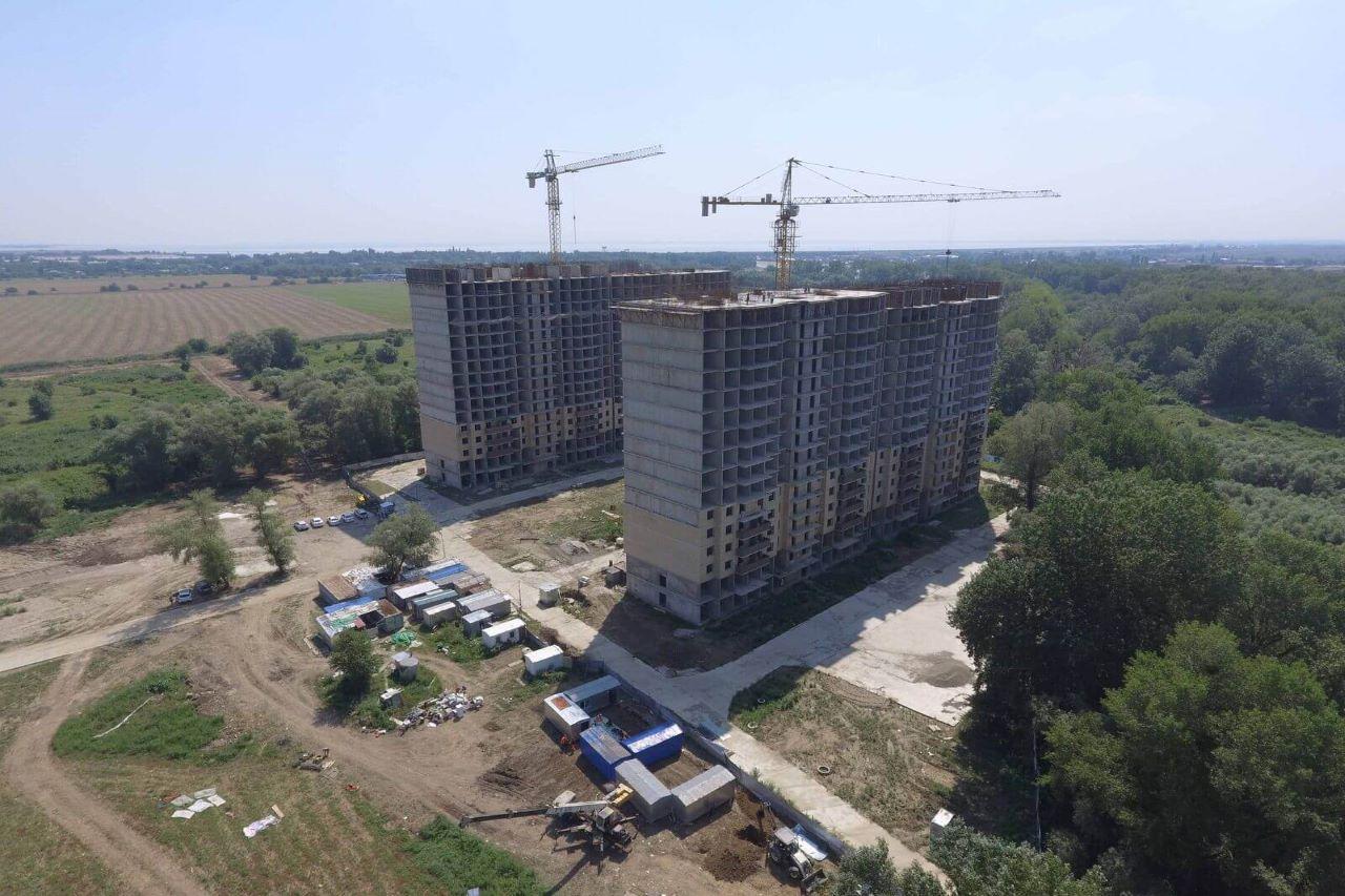Отчет о строительстве ЖК «Поколение», июль, 2020г.