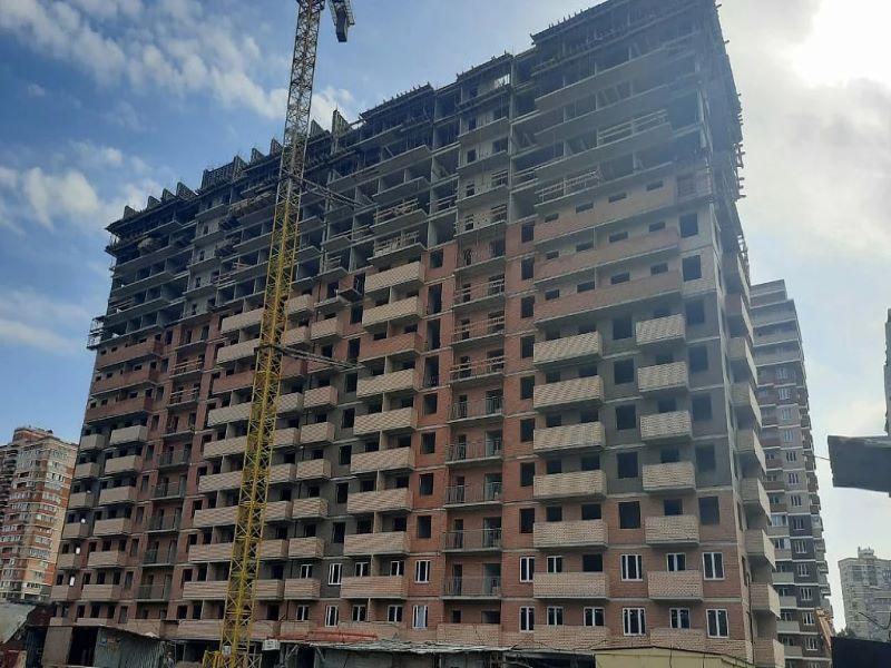 Отчет о строительстве ЖК «Премьера», июль, 2020г.