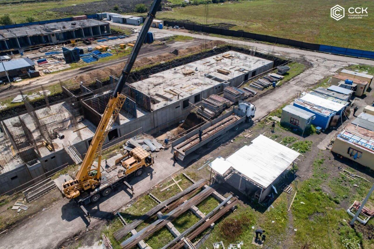 Отчет о строительстве ЖК «Ракурс», июль, 2020г.