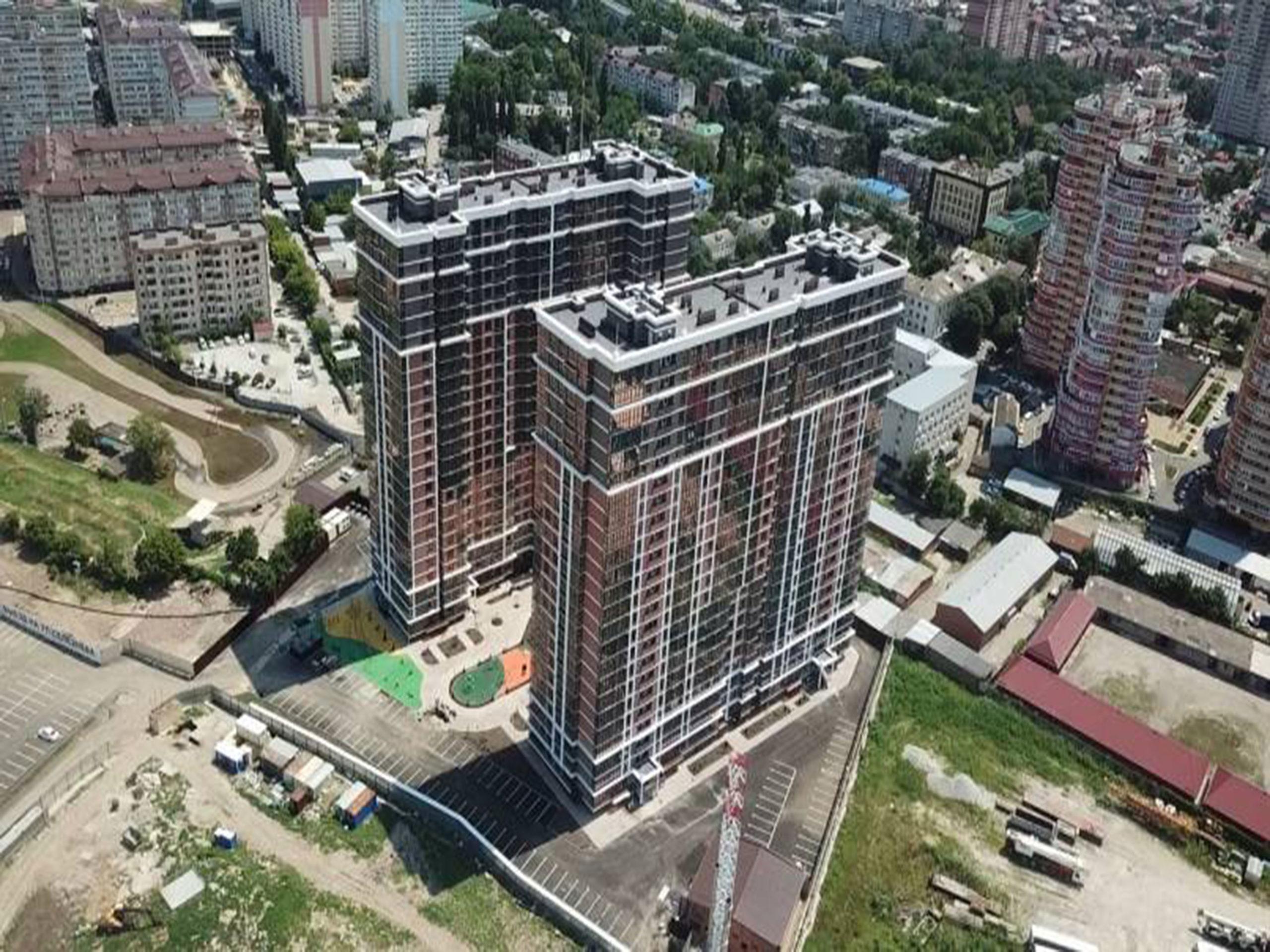 Отчет о строительстве ЖК «Рекорд», июль, 2020г.