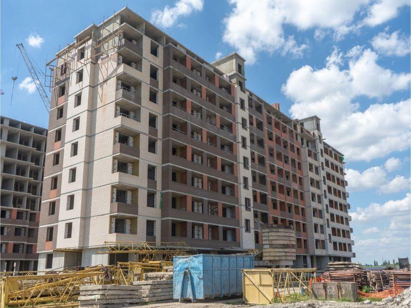 Отчет о строительстве ЖК «Родные Просторы», июль, 2020г.
