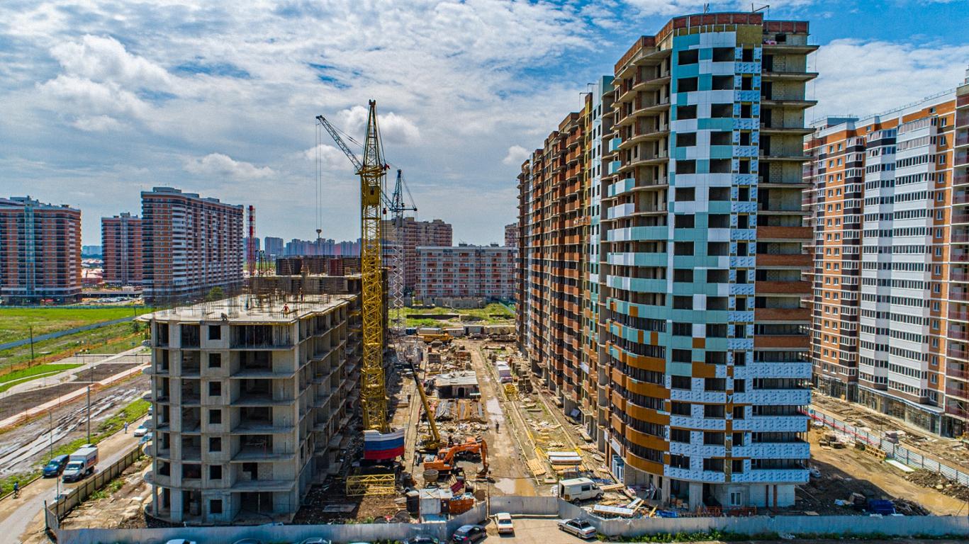 Отчет о строительстве ЖК «Россинский Парк», август, 2020г.