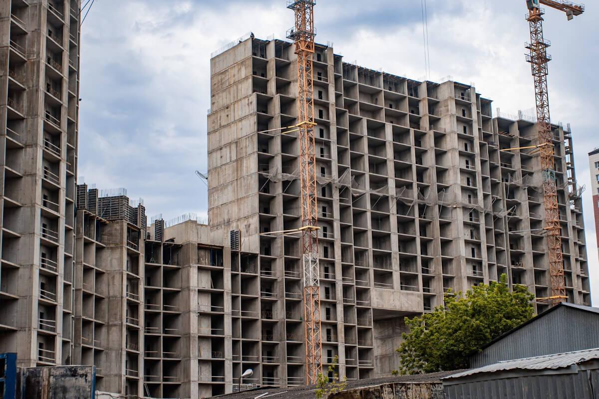 Отчет о строительстве ЖК «Сердце», июль, 2020г.