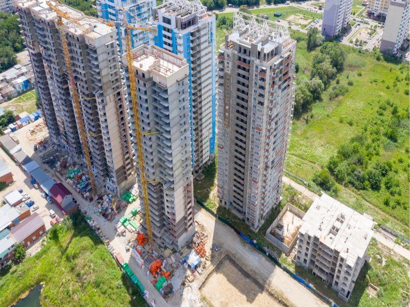 Отчет о строительстве ЖК «Стрижи», июль, 2020г.