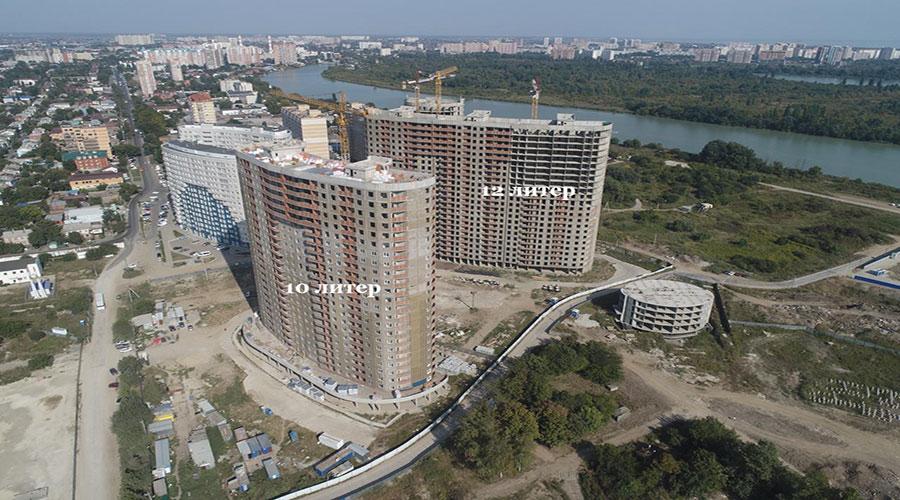 Отчет о строительстве ЖК «Фонтаны», сентябрь, 2020г.