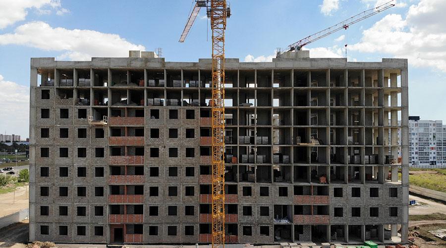 Отчет о строительстве ЖК «Южане», октябрь, 2020г.
