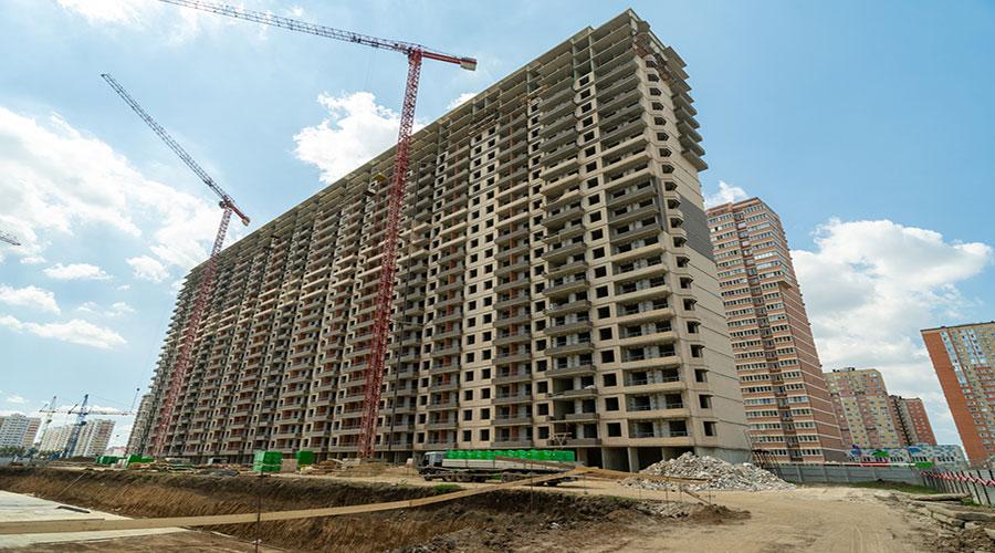 Отчет о строительстве ЖК «Абрикосово», сентябрь, 2020г.