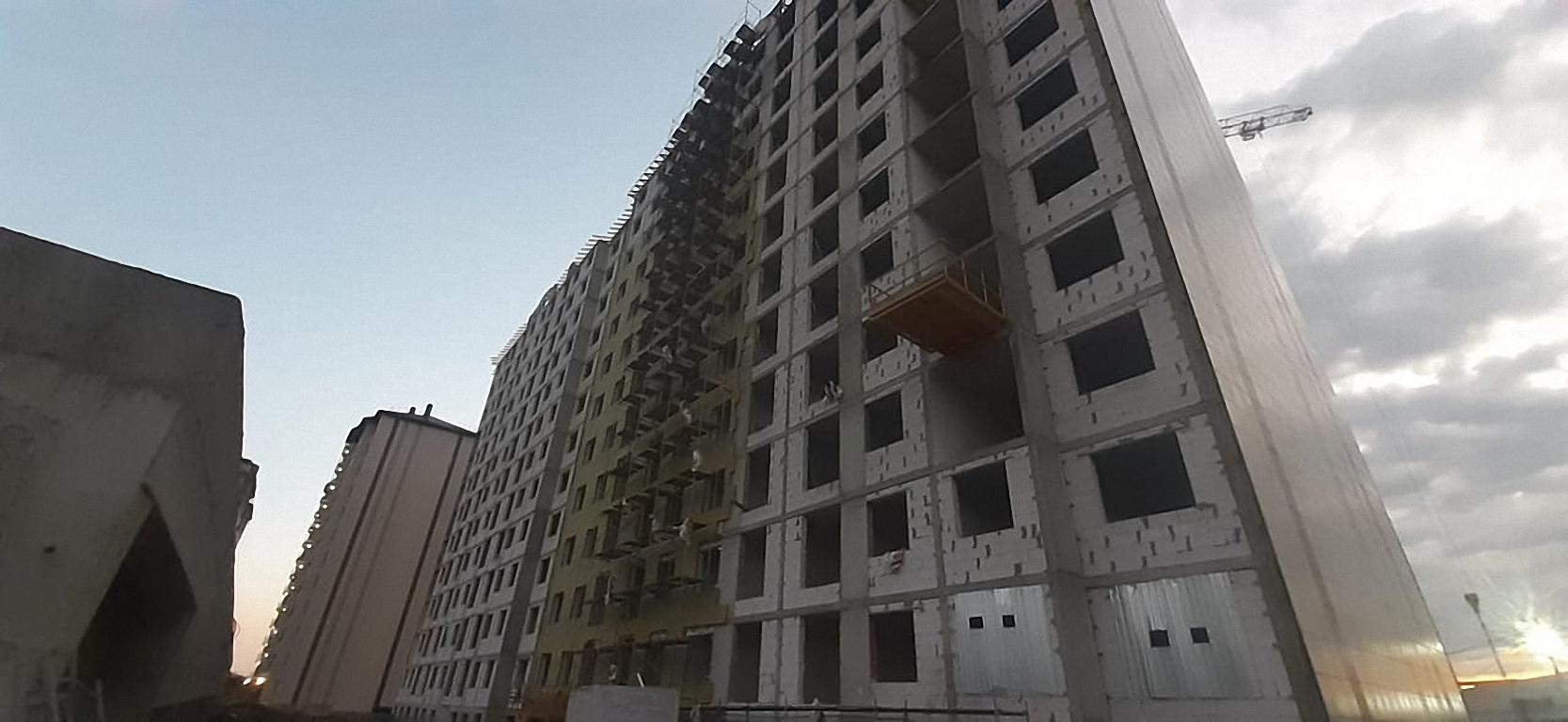Отчет о строительстве ЖК «Баланс», август, 2020г.