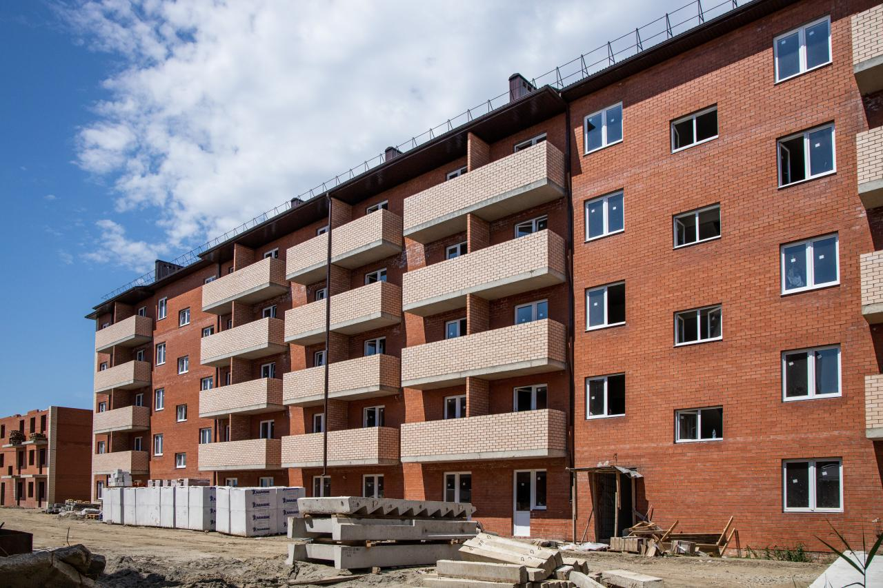 Отчет о строительстве ЖК «ДарГрад», июнь, 2020г.