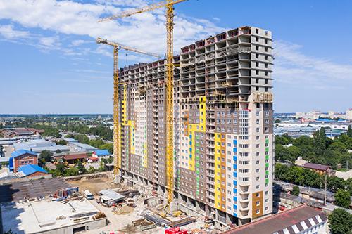 Отчет о строительстве ЖК «Гарантия на Дежнева», август, 2020г.