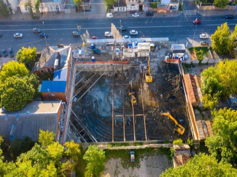 Отчет о строительстве ЖК «Graff Суворов», август, 2020г.