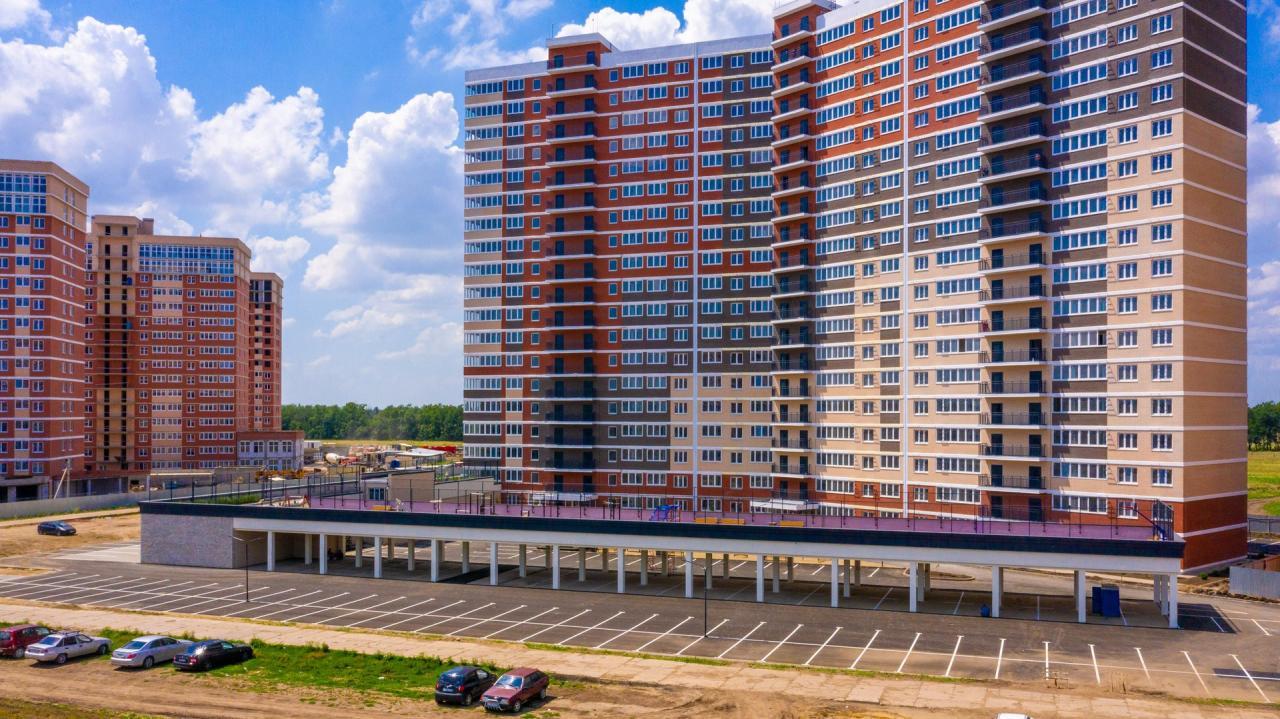 Отчет о строительстве ЖК «Грани», июль, 2020г.