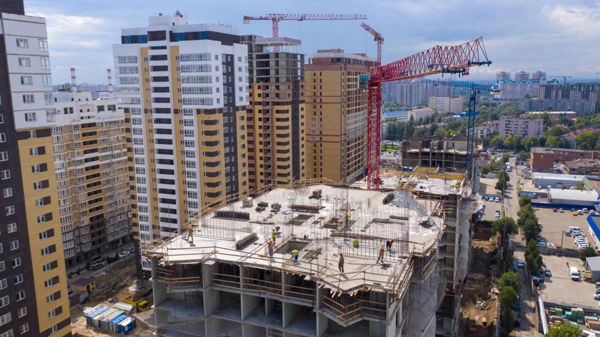 Отчет о строительстве ЖК «Империал», август, 2020г.