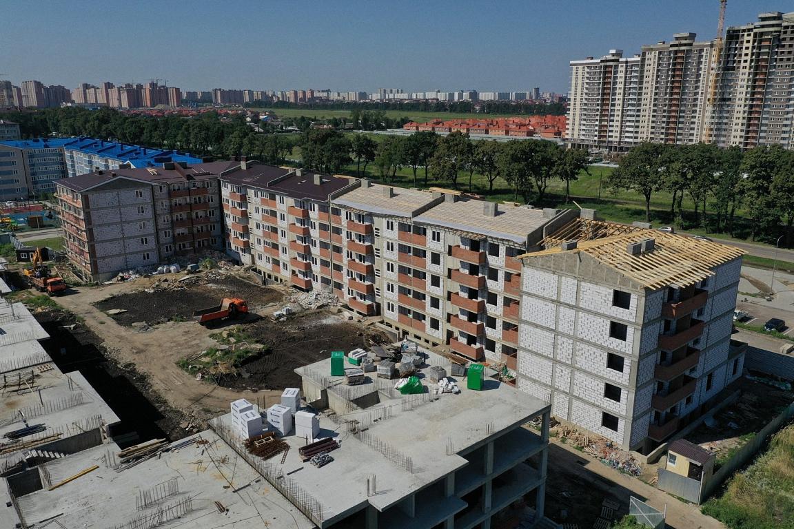 Отчет о строительстве ЖК «Краски», июль, 2020г.