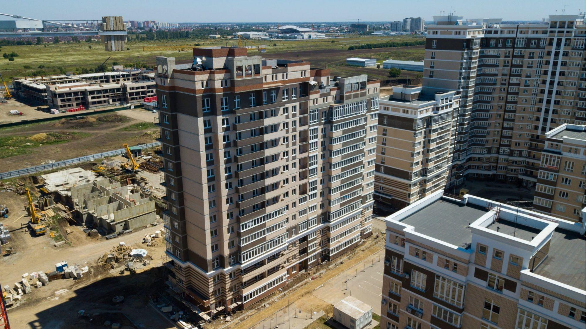 Отчет о строительстве Neo квартал «Красная площадь», июль, 2020г.