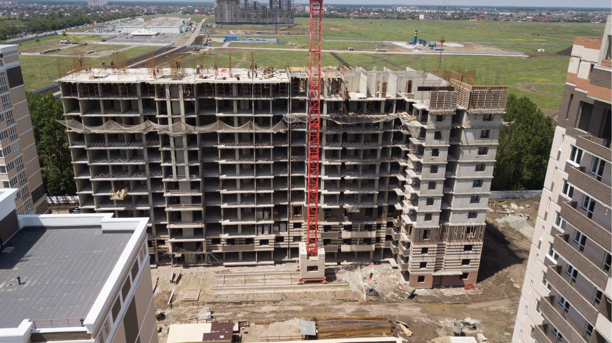 Отчет о строительстве Neo квартал «Красная площадь», июнь, 2020г.