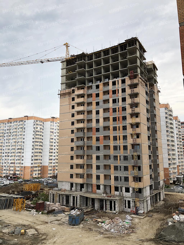 Отчет о строительстве ЖК «Квартет», июнь, 2020г.