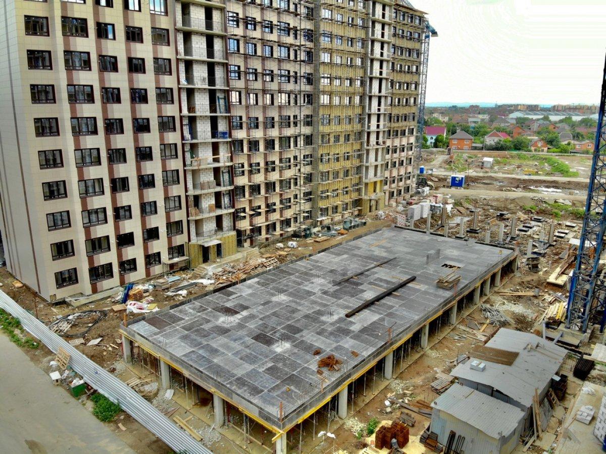 Отчет о строительстве ЖК «Мега Победа», август, 2020г.