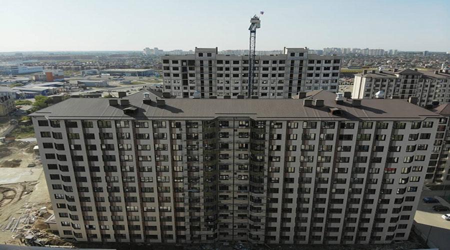 Отчет о строительстве ЖК «Мега Победа», сентябрь, 2020г.