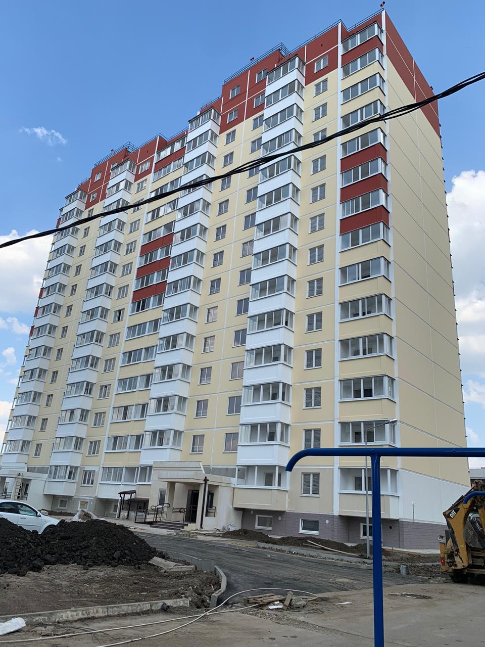 Отчет о строительстве ЖК «Молодежный», июль, 2020г.