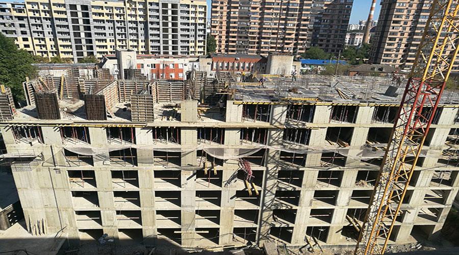 Отчет о строительстве ЖК «Ренессанс», сентябрь, 2020г.