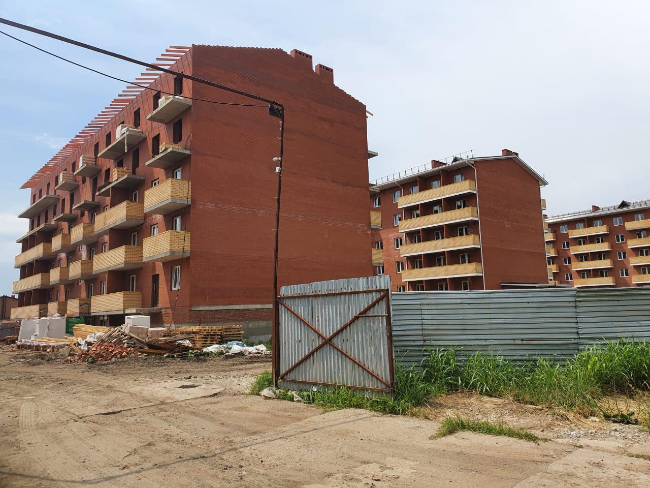 Отчет о строительстве ЖК «Оазис», август, 2020г.