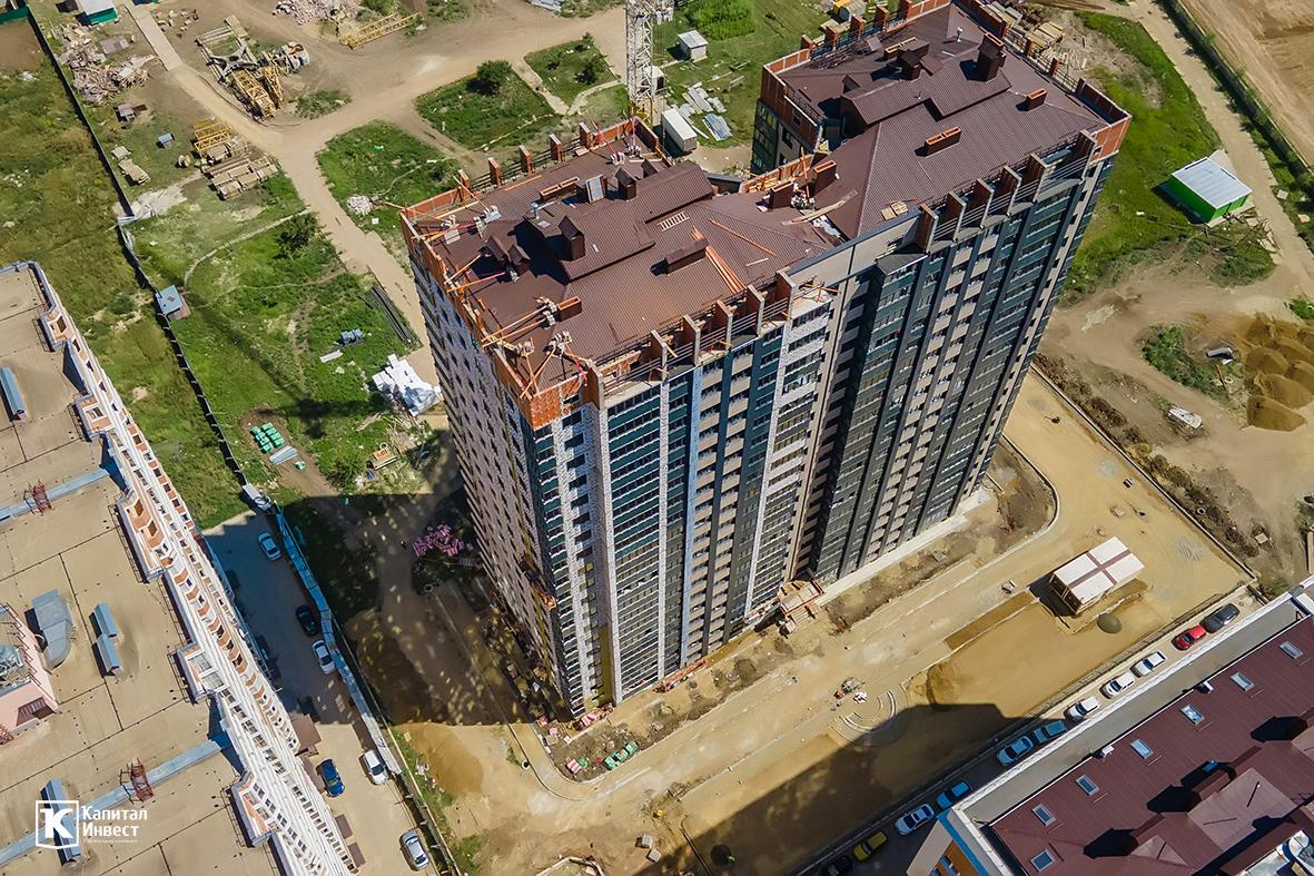 Отчет о строительстве ЖК «Олимп», август, 2020г.