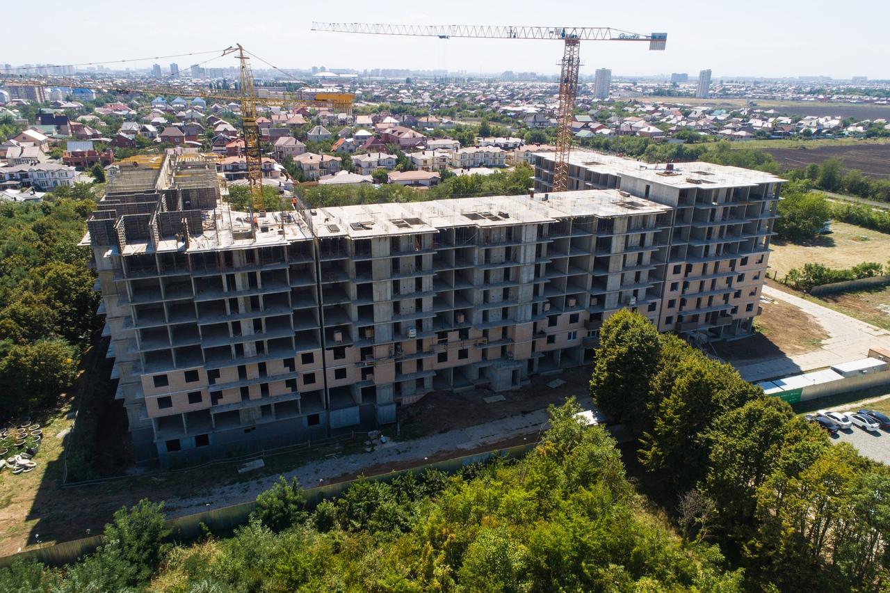 Отчет о строительстве ЖК «Открытие», август, 2020г.