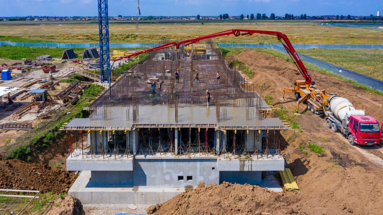 Отчет о строительстве ЖК «Отражение», июль, 2020г.
