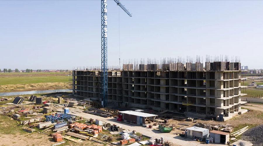Отчет о строительстве ЖК «Отражение», сентябрь, 2020г.